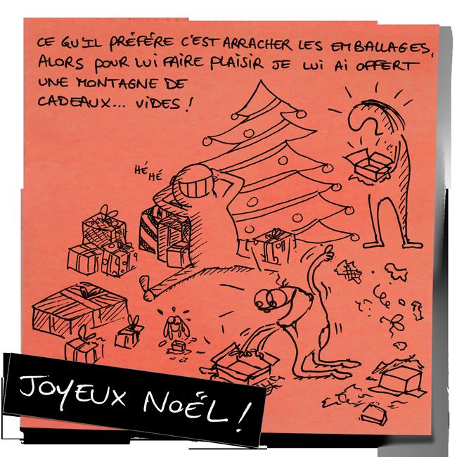 """""""Joyeux Noël !"""" - La magie de Noël tient à peu de choses finalement… / Cydre - jedressemongamin.com"""
